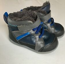See Kai Run Baby Boy Boots Size 4 - Like New!!!