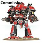 Knight Valiant Commission Superbly Painted Warhammer 40K