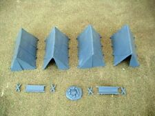Renedra Plastic Ridge Tents - For 28mm Wargames - Bolt Action ACW and Fantasy