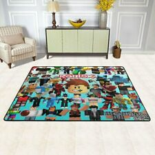 Roblox Rugs Anti-skid Area Rug Living Room Bedroom Decoration Floor Mat Carpet