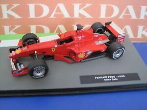 Die cast 1/43 Modellino Auto F1 Ferrari F399 1999 M. Salo