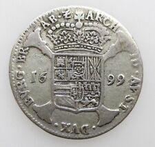 Spanish Netherlands Escalin 1699 Charles II Habsburg Spain