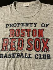 Vintage 80s Property Of Boston Red Sox Eastport T-Shirt MLB Baseball Fenway Park