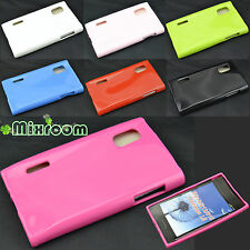 COVER CUSTODIA CASE TPU GEL SILICONE PER LG L5 OPTIMUS E610 / E612