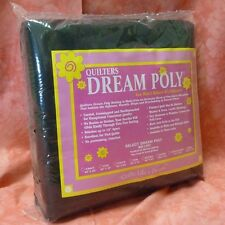 Quilters Dream Black Poly Select Quilt Batting: Double Size