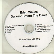 (CI672) Eden Wakes, Darkest Before the Dawn - DJ CD