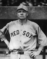 Boston Red Sox BABE RUTH 'Bambino' Glossy 8x10 Photo Baseball Print Poster