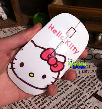 Cute Hello Kitty Wireless Mouse Ultra Thin 2.4Ghz With Box & bluetooth