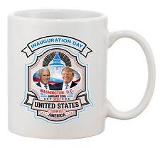President Trump Pence Inauguration Day Washington DC USA DT Coffee 11 Oz Mug