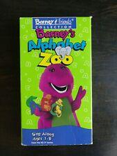 BARNEY ALPHABET ZOO (VHS)