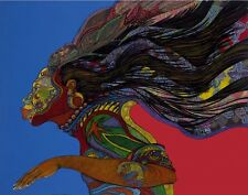 Adorning Glory LE 200 Medium Ethnic Artwork Expressionism 2000-Now by Bibbs