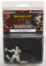 Warmachine Khador Winter Guard Artillery Kapitan Solo PIP 33123