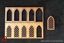 Windows - medium with lattice