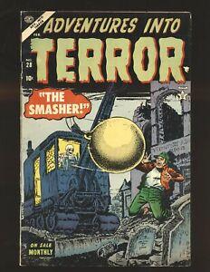 Adventures Into Terror # 28 Fine Cond.