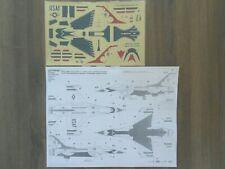 """F-16A VIPER """"USAF/THUNDERBIRDS"""" AMT DECALS 1/72"""