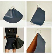 ZARA MINI STUDIO LEATHER BUCKET BAG WITH HOOPS REF. 8030/104 NWT - 199$!!!
