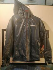Columbia OutDry Ex Gold Insulated Blue Jacket - Men's Small