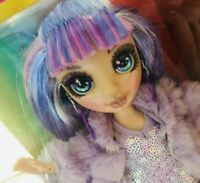 New 2020 Violet Willow Rainbow High Fashion Doll Purple w 2 outfits HTF MGA Doll