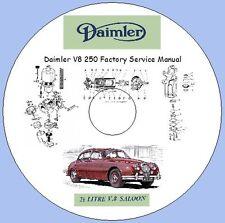 Daimler V8 250 2.5 ltr Factory Service Manual