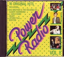 VARIOUS – Power Radio Vol.8 (Sony Music – Germany) JETHRO TULL, BOSTON, ELO