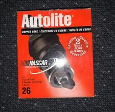 Autolite 26 Spark Plug - Resistor Copper (4 Pack) (BOX15C)