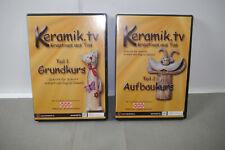 Keramik.tv Partie 1+2 (Cours de Base + Aufbaukurs) DVD (K47