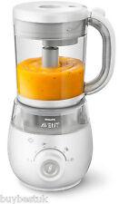 Philips AVENT 4-In-1 Healthy Baby Food Maker Steam Blender - SCF875/01