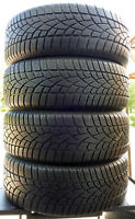 4x Winterreifen DUNLOP 235/60 R17 Sp Winter Sport 3D A0 102H 6mm! SALE