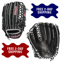 """2021 Wilson A2000 12.75"""" Outfield Baseball Glove SCOT7 Spin Control Model"""