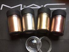 Mac cosmetics Pigment-Sample-Set 4 Stück a 0,4 gr. HEAVY METAL PIGMENTS