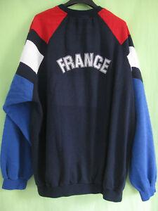 Sweat Adidas Vintage Equipe de France FFF Vintage 90'S Jersey - 192 / XXL
