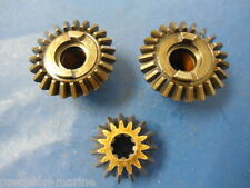 318266, A318023 Complete Lower Unit Gear Set, 1968 Chrysler 6.6hp Model 601