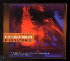 TANGERINE DREAM  PURGATORIO DIGIPAK  2 CDS  LA DIVINE COMEDIE  DANTE ALIGHIERI'S