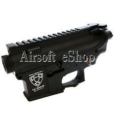 Airsoft APS Logo Upper & Lower Metal Body for M4/M16 AEG Black