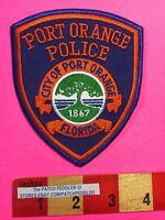 City Of Port Orange Florida Patch ~ Police Law Enforcement 5NA4 ex