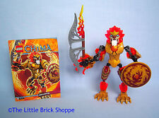 Rare Lego Legends of Chima 70206 CHI LAVAL - Complete figure with instructions