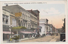 Elmira,New York,East Water Street from Railroad Ave.c.1918-30s