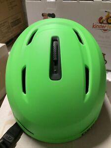 ! Giro NEO MIPS Adult Medium Snow Ski Snowboarding Helmet Matte Bright Green