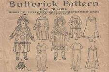 "Vintage 18"" Antique Doll Clothes Pattern 409"