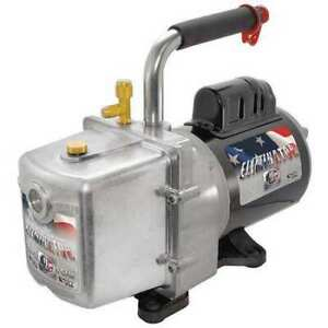 Jb Industries Dv-6E Eliminator® Refrig Evacuation Pump,6.0 Cfm,6 Ft.