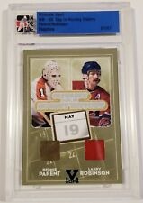 ITG - Bernie Parent and Larry Robinson Game-Used Pad and Jersey - 01/01