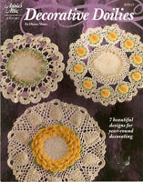 ANNIE'S ATTIC 2005 DECORATIVE DOILIES CROCHET PATTERN BOOKLET 875522