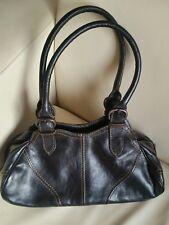 Hidesign Ladies Leather Tote Hand Bag Black