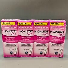Monistat Care Chafing Powder Gel Relief, 1.5 oz, 4 Pack, EXp 06/21+