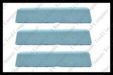 (3) 2lb Blue Polishing Compound Aluminum High Gloss Mirror Shine Final Step