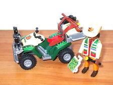 PLAYMOBIL: 4176 Dino ricercatori con quad