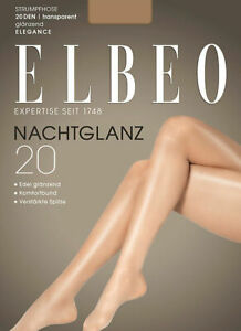 Elbeo Tights Nachtglanz 20 Transparent And Shiny 20 Den