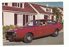 CARTE POSTALE RENAULT 15 TS VOITURE