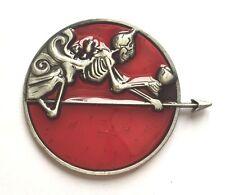 Disney Pin Badge Pirates Caribbean Stranger Tides Queen Anne's Revenge Skeleton