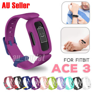 Replacement Silicone Band Strap Bracelet Wristband for FITBIT ACE 3 Kids sport